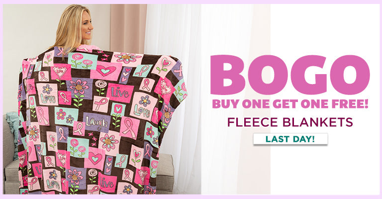 LAST DAY! | Buy One, Get One Free | Fleece Blankets