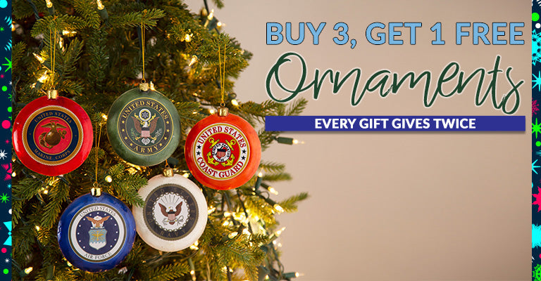 Buy 3, Get 1 Free Ornaments | Shop ASAP