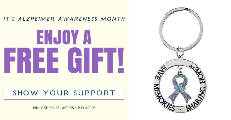 It's Alzheimer's Awareness Month! Choose Your Free Gift!