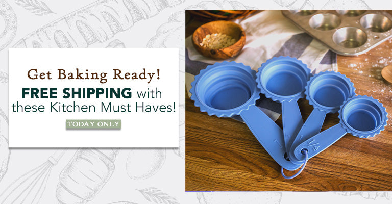 Free Shipping with these Baking Must Haves! | Today Only!