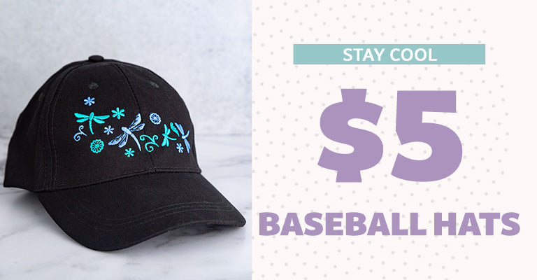 Stay Cool | $5 Baseball Hats