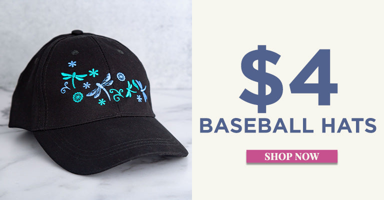 $4 Baseball Hats | Shop Now