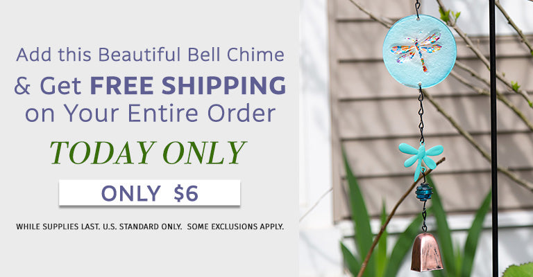 Add this Beautiful Bell Chime & Get Free Shipping on Your Entire Order | Only $6