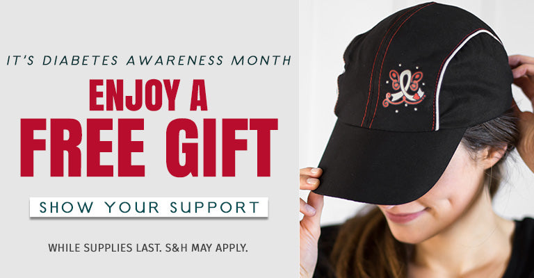 It's Diabetes Awareness Month! Choose Your Free Gift!