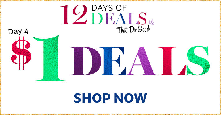 12 Days of Deals | Day 4 | $1 Deals