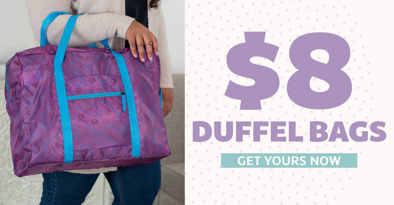 $8 Duffel Bags | Get Yours Now