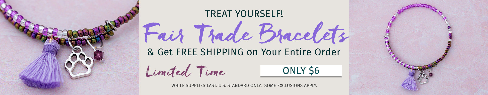 Fair Trade Bracelets! | Only $6 | New!