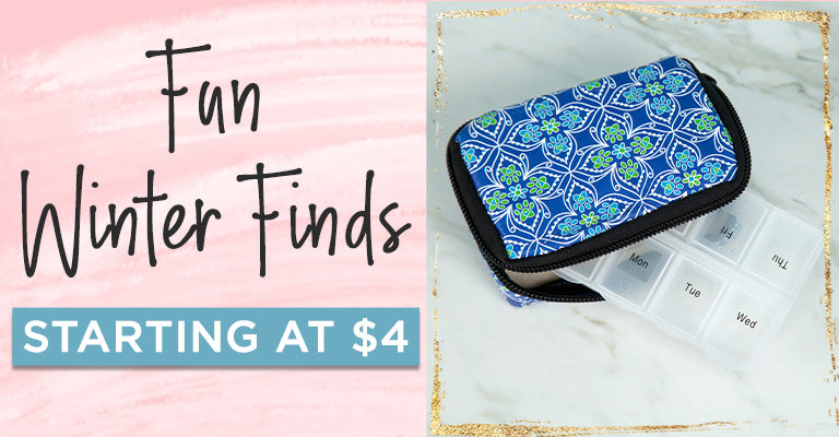Winter Finds | Starting at $4