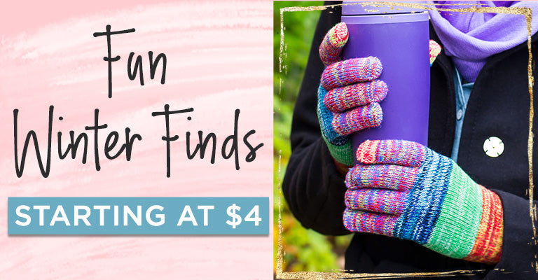 Fun Winter Finds | Starting at $4