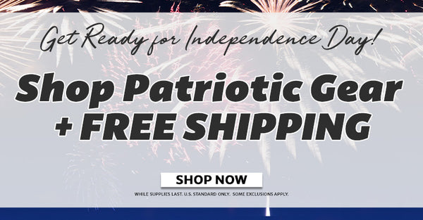 Shop Patriotic Gear + Free Shipping | Shop Now!