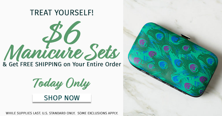 $6 Manicure Sets | Free Shipping On Your Entire Order