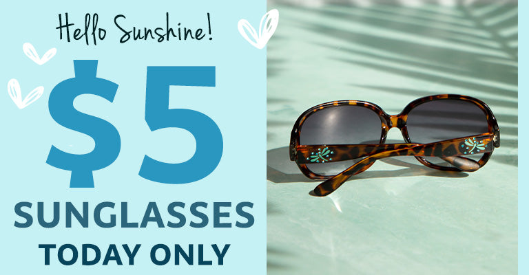 $5 Sunglasses | Today Only