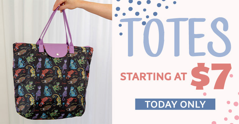 Totes Starting at $7 | Today Only