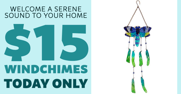 Welcome a Serence Sound To Your Home | $15 Windchimes | Today Only!