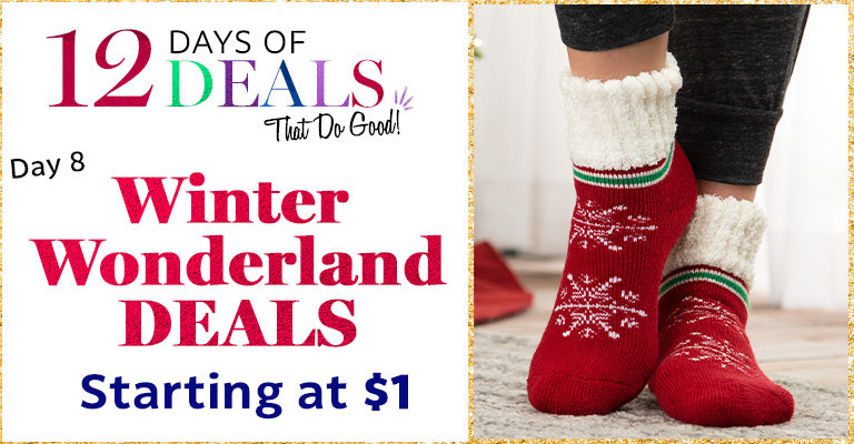 12 Days of Deals | Day 8 | Winter Wonderland Deals | Starting at $1