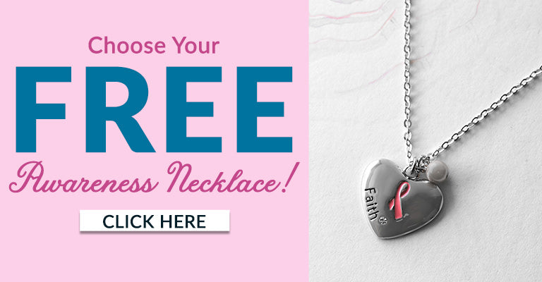 Choose Your Free Breast Cancer Awareness Necklace!