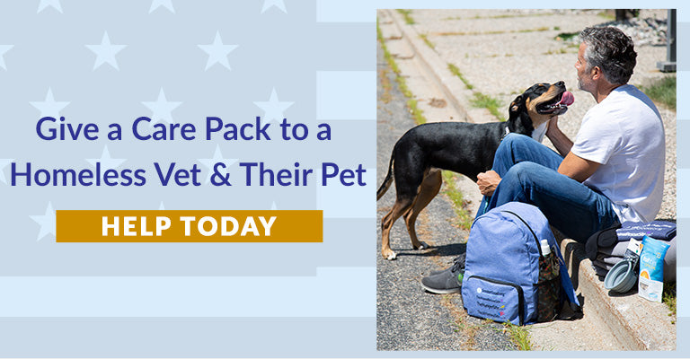 Give a Care Pack to a Homeless Vet & Their Pet