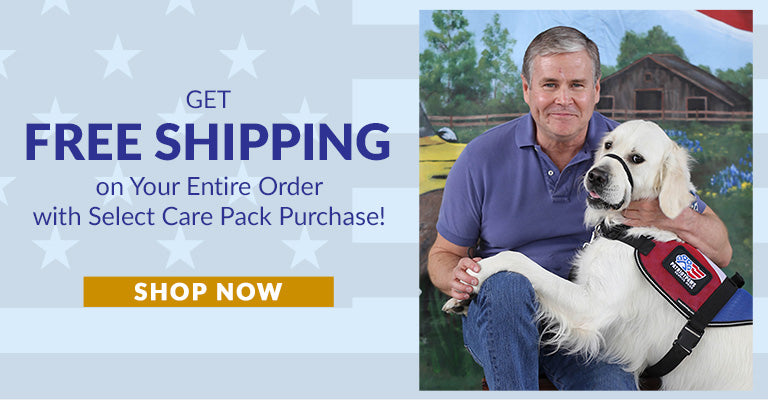 Get Free Shipping on Your Entire Order with Select Care Pack Purchase!