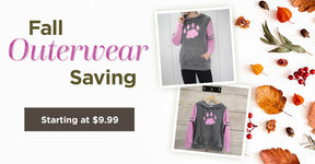 Fall Outerwear Savings | Includes gloves, boots and more! | Starting at $9.99