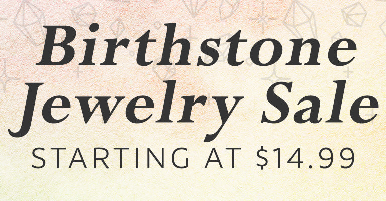 Birthstone Jewelry Sale