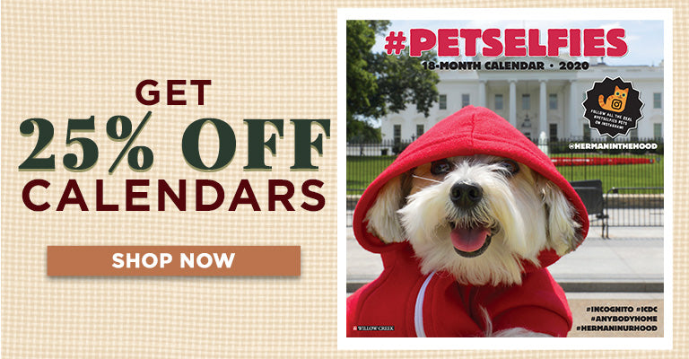 25% OFF Calendars | Shop Now