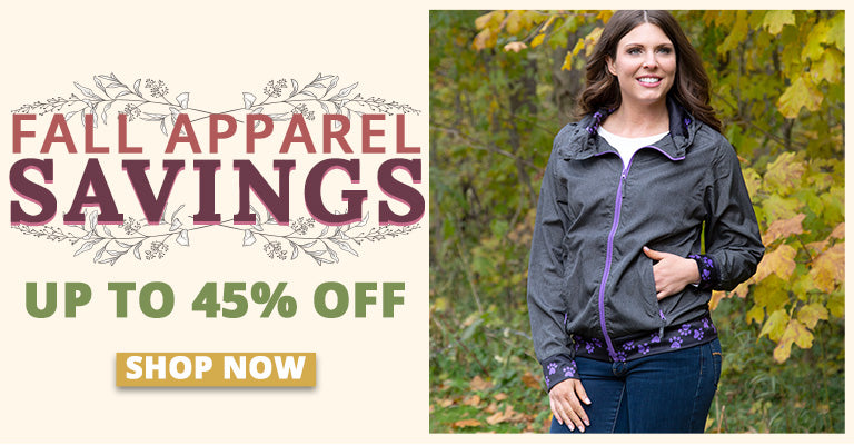 Fall Apparel Savings