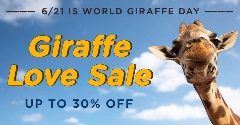 Giraffe Love Sale