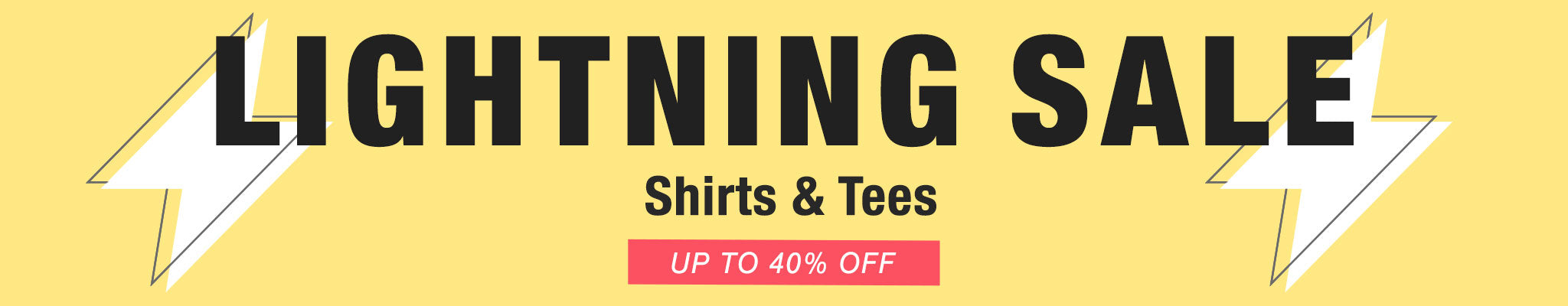 Lightning Sale - Shirts & Tees
