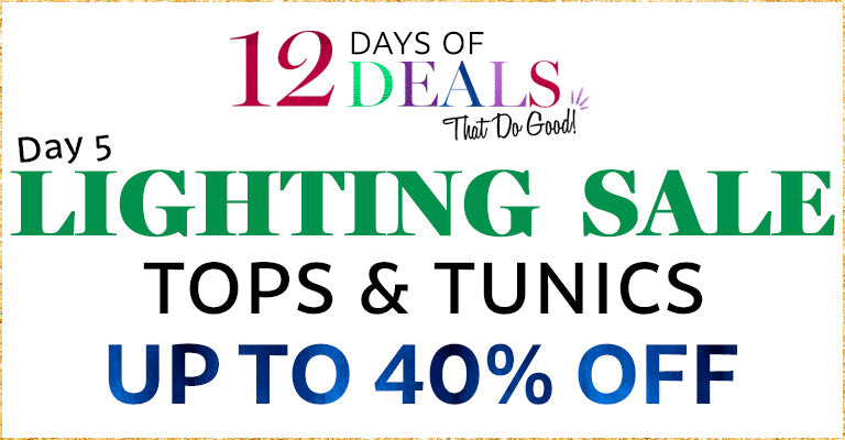 12 Days of Deals | Day 5 | LS - Tops & Tunics