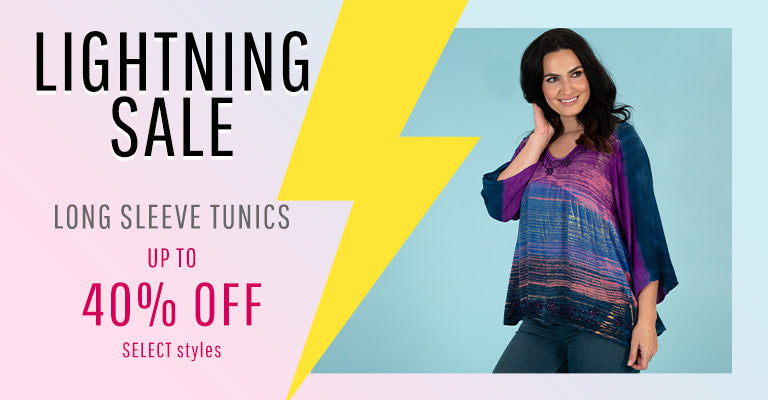 Lightning Sale - Long Sleeve Tunics