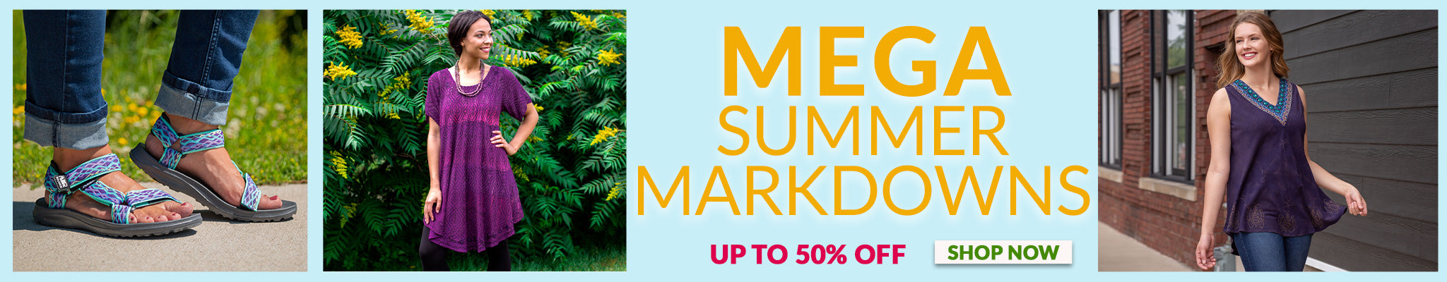 Mega Summer Markdowns