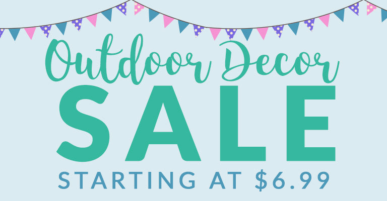 Outdoor Decor Sale