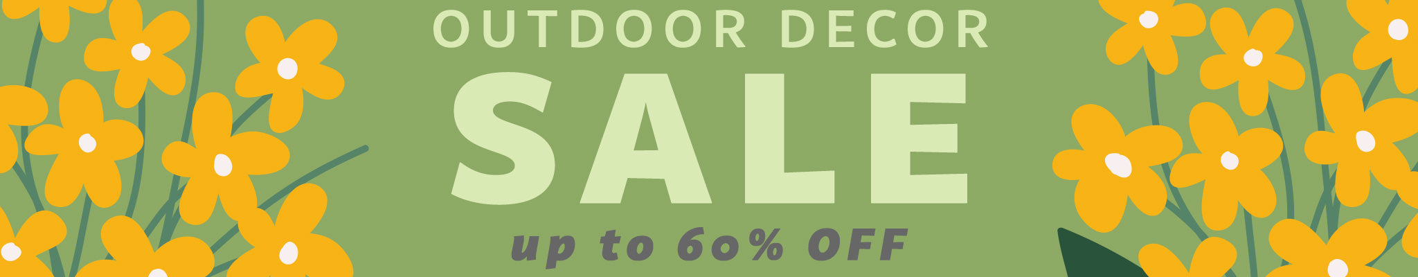 Outdoor Decor Sale | Up to 60% OFF