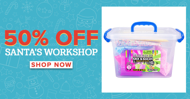 50% Off Santa's Workshop