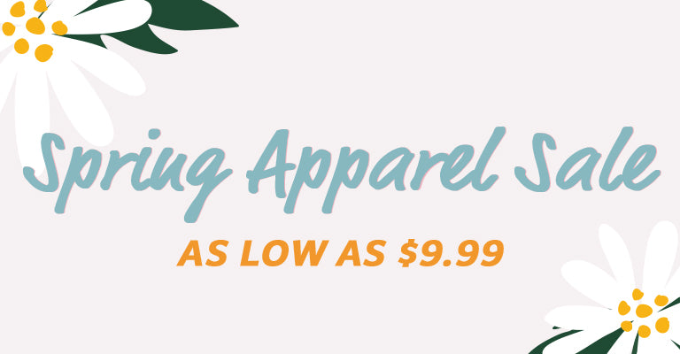 Spring Apparel Sale