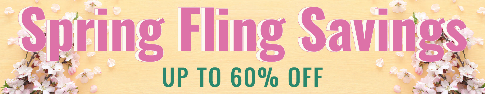 Spring Fling Savings