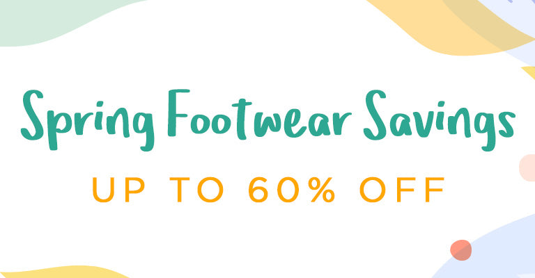 Spring Footwear Savings