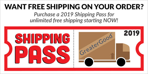 Get a Shipping Pass for $19