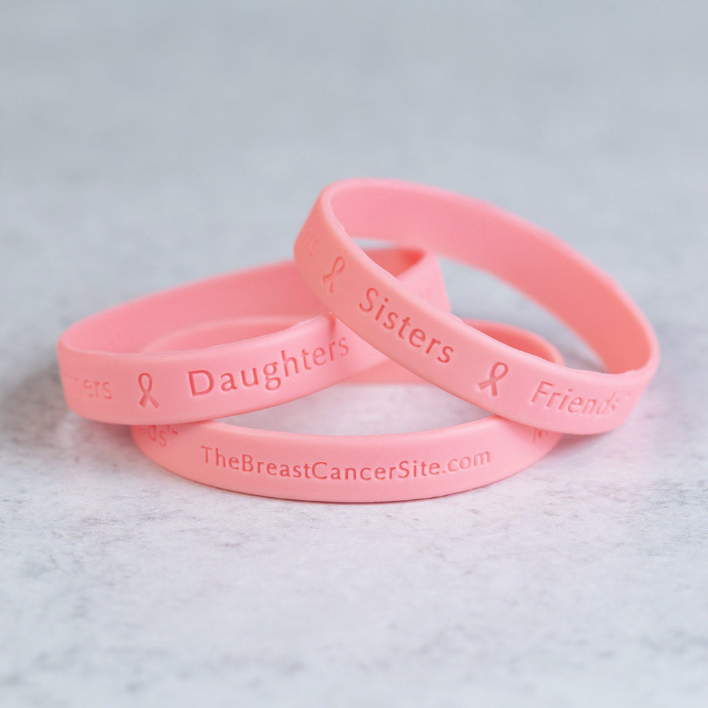 Band Of Support Pink Ribbon Bracelet