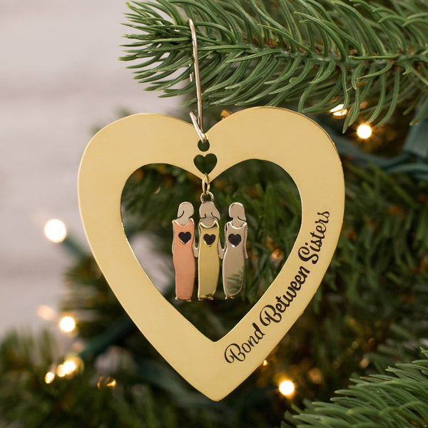 Bond Between Sisters Ornament