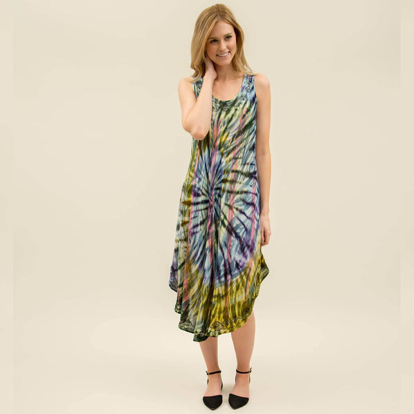 Untamed Spirit Sleeveless Dress