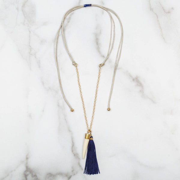Bahari Tassel Necklace