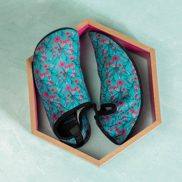 Floral Delight Yoga Beach Shoes