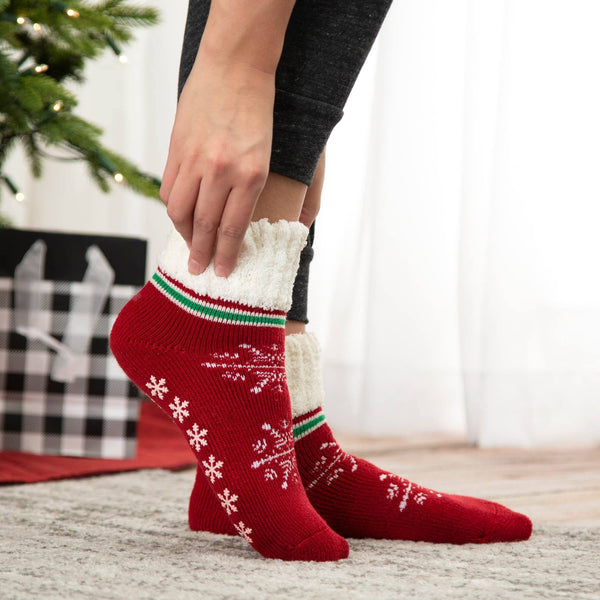 Promo - PROMO - Holiday Slipper Socks