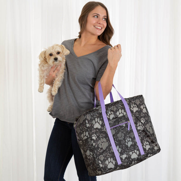Paws Aplenty Packable Duffel Bag