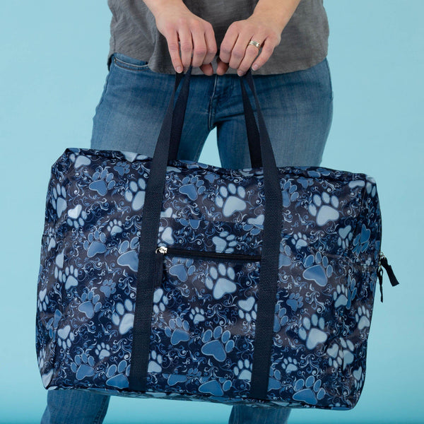 Promo - Blue Paws Aplenty Packable Duffel Bag!