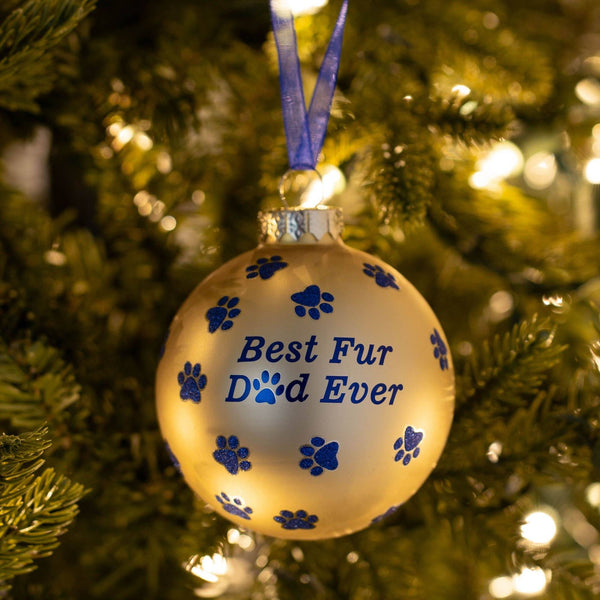 Best Fur Dad Ever Ornament
