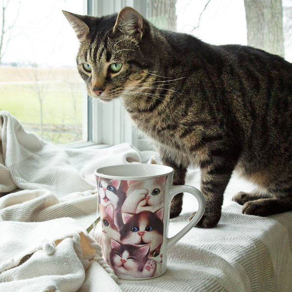 Cozy Kitties Grande Ceramic Mug