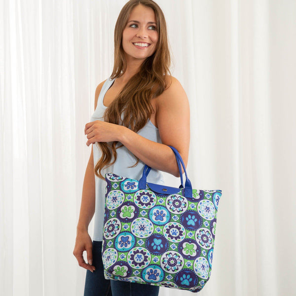 Promo - PROMO - Flowering Paws Packable Tote
