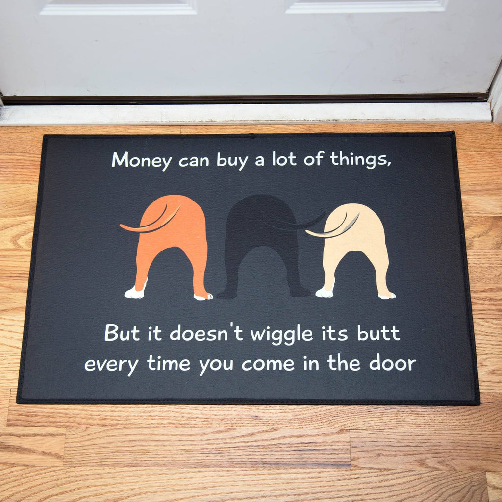 Dog Wiggle Door Mat